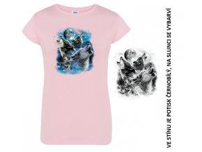 damske-modre-tricko-potisk-vlci-menici-barvu
