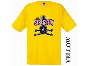 zlute-vtipne-tricko-kocka-stres