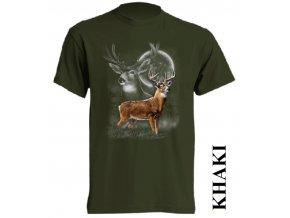 khaki-tricko-jelen
