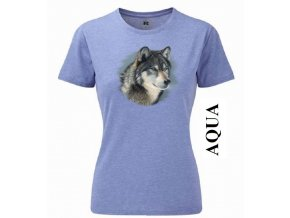 aqua-modre-damske-tricko-hlava-vlka