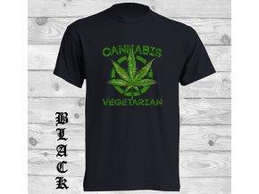 cerne tricko cannabis