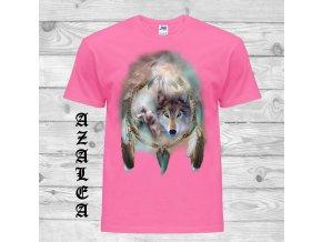 natural tričko indian vlci lapac snu