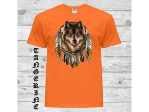vlk lapac snu tricko mandarinkove