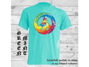 Sluneční tričko Hipie znak