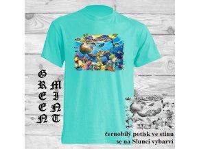 Sluneční tričko Hejno želviček