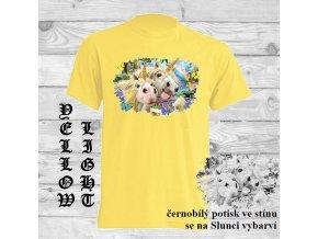 Sluneční tričko Jednorožci