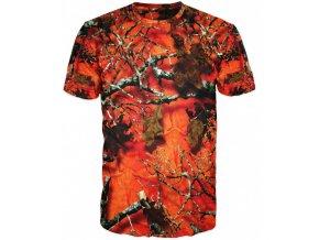 maskacove podzimni oranzove tricko