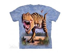dětské tričko-dinosaurus-tyranosaurus rex-potisk-mountain