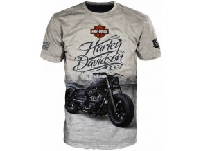 tricko motorka Harley Davidson