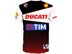 tricko motorka Ducati team