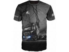cerne tricko kamion Iveco