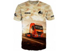 tricko potisk kamion Iveco