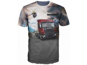 tricko kamion Scania