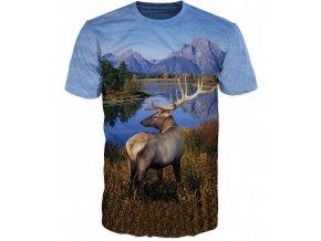 tricko jelen v horach
