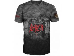 metalove tricko Slayer