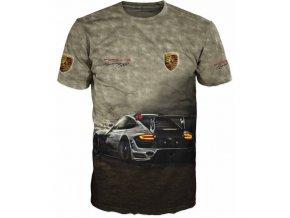 tricko auto Porsche