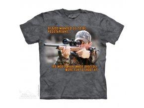 Tričko střelec lovec vtipné potisk