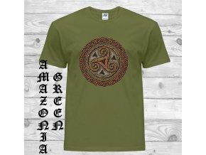 amazonsky zelene tricko slunecni kolo