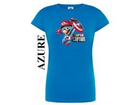 Dámské levné tričko kapitán Mário