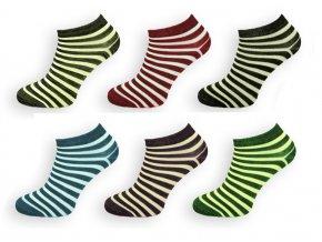 damske kotnickove bavlnene sportovni ponožky