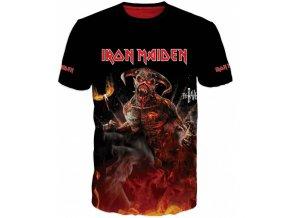 cervene tricko Iron Maiden
