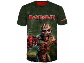 zelene tricko Iron Maiden