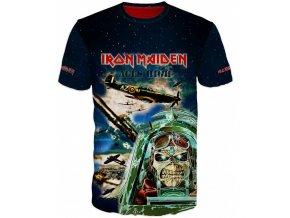 modre tricko Iron Maiden