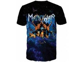 tricko Manowar modre