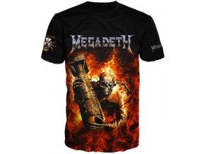 cerne tricko Megadeth