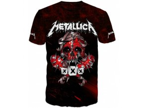 cerne tricko Metallica