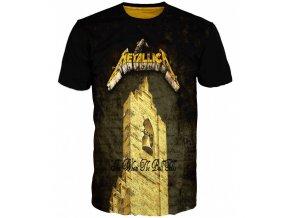 tricko Metallica heavy metal