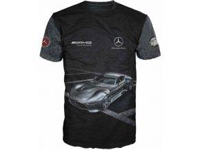 cerne tricko auto Mercedes
