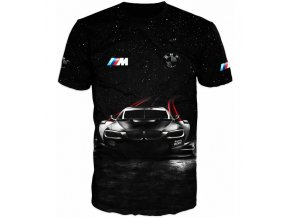 cerne tricko auto BMW