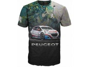 tricko auto Peugeot
