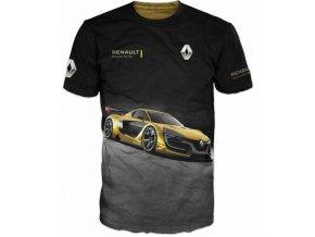 cerne tricko auto Renault