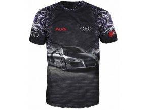 cerne tricko auto Audi