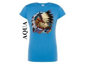 Dámské tričko Indiánský náčelník
