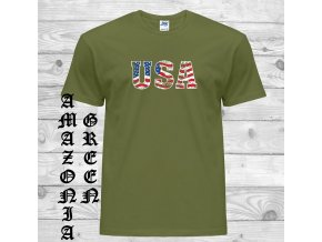 Tričko s nápisem USA