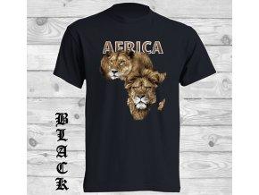 cerne tricko afrika