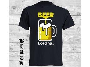 cerne tricko beer loading