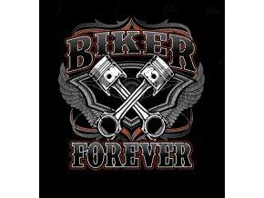 biker tricko s potiskem