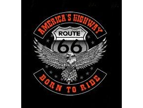 biker tricko bornto ride