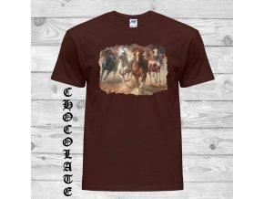 Tričko Čtyři koně