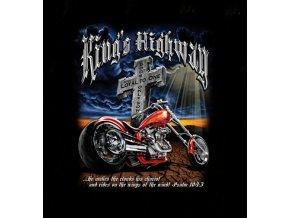 biker tricko motorka král silnic