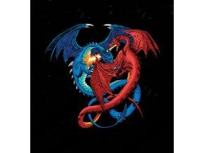 tricko souboj draku