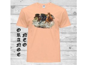 matne oranzove tricko tri kone