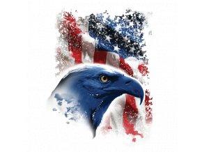 tricko menici potisk USA