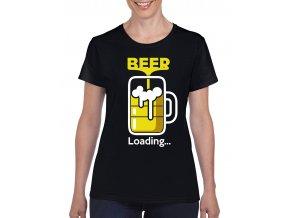 cerne damske tricko beer loading