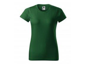 damske Malfini tricko lahvove zelene 0