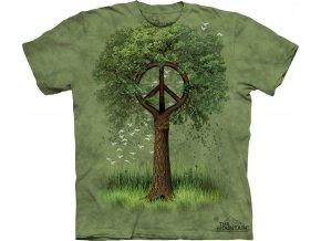 tričko-potisk-batikované-bavlněné-hipie-strom